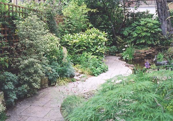 Complete Garden Makeover – Path, Planting & Water Feature – After