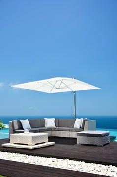 Cool cantilever parasol