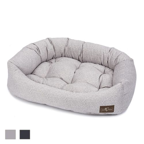 Vintage Plush Velour Napper Luxury Dog Bed Dog Bed Luxury Napper Dog Bed