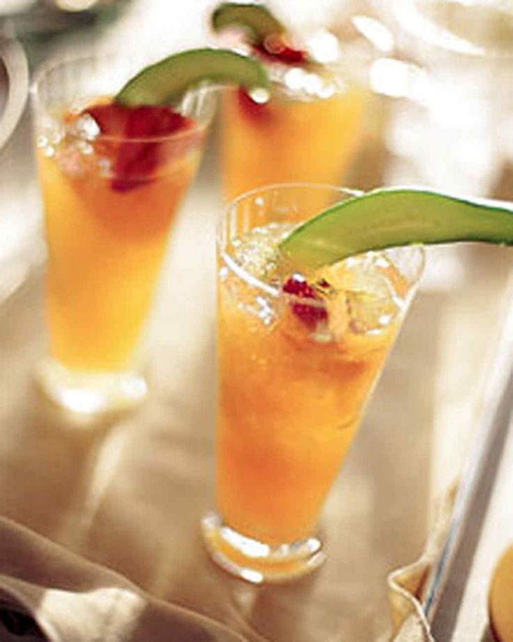 A pitcher of this cocktail is perfect for a brunch or daytime gathering.