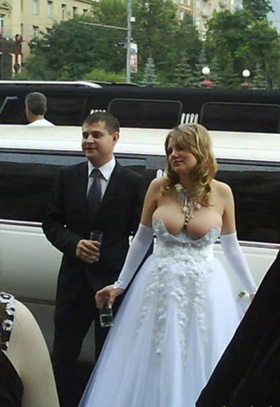 Hässliche Brautkleider - Sammlung