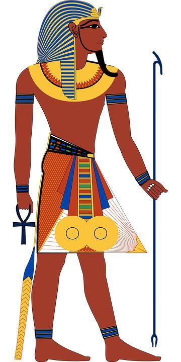 Egipcio, Egipto, Antigua, Histórico, Faraón, Guerrero