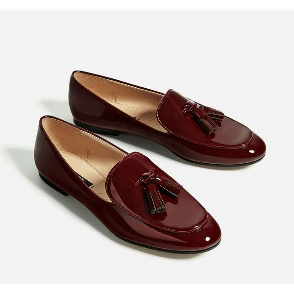 TASSELLED LOAFERS - SHOES-WOMAN-COLLECTION SS/17 | ZARA Germany (220 SEK) ❤ liked on Polyvore featuring shoes, loafers, tassle loafers, tassel loafer shoes, tassel shoes, loafer shoes and loafers moccasins
