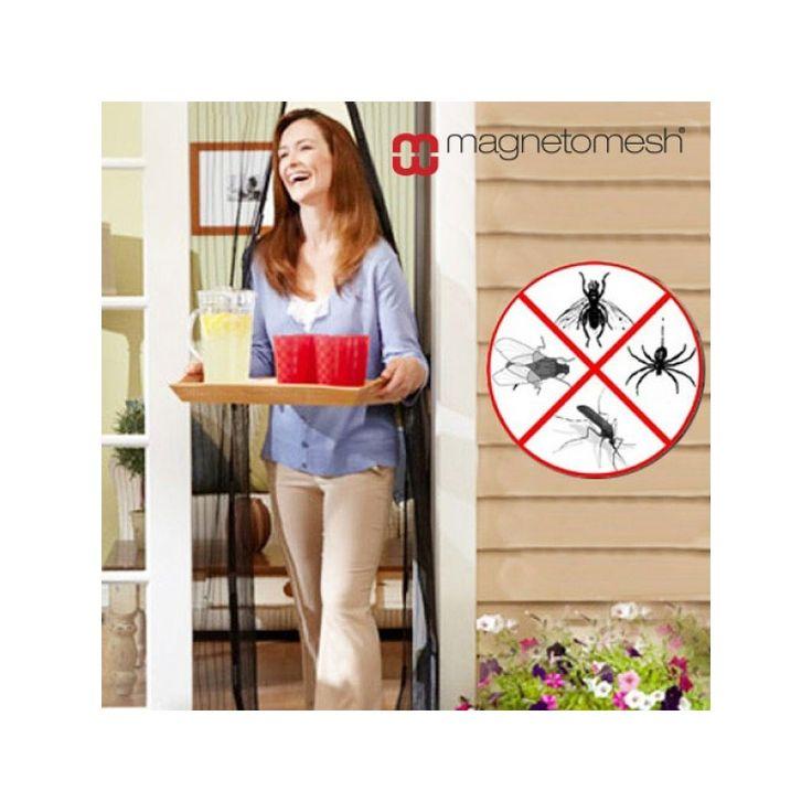 Rideau Magnétique Anti Insectes