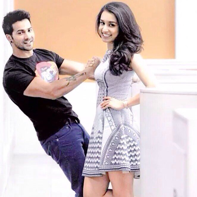 Unseen: During #ABCD2 promotions ❤️ @shraddhakapoor @varundvn