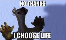 ice age sid no thanks i choose life - Google Search