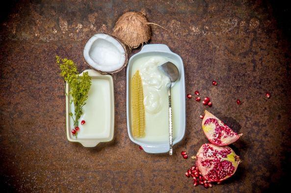 Telové maslo má hydratačné účinky. Obsahuje bambucké a kakaové maslo. Čisté esenciálne oleje vyživujú pokožku, zanechávajú pokožku prirodzene jemnú, hladkú a pružnú. Telové maslo má pevnú štruktúru a po kontakte s teplým prostredím sa mení na mastnú.  Je vhodné na všetky typy pleti, zvlášť na suchú. Telové maslo zmäkčí pokožku a vďaka svojmu zloženiu pokožku hydratuje a lieči.  Neobsahuje žiadne farbivá. Bez konzervačných látok. Nie sú testované na zvieratách.