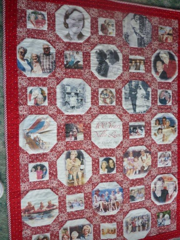 Memory quilt - 100th birthday Quilts & Quilt Craft Pinterest