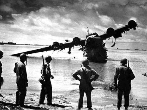WWII: Photos, Ww2 Planes, Wwii, Wreck Japan, History Ww2, Japan Seaplane, Kawanishi H8K, Japan Kawanishi, Wars Ii