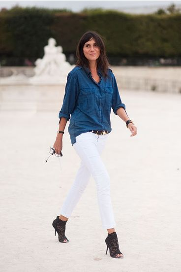 DENIM AND WHITE - Mark D. Sikes: Chic People, Glamorous Places, Stylish Things