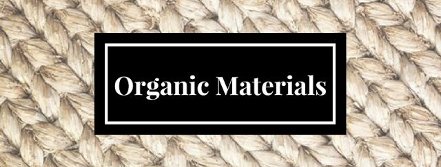 #Organic #materials is not only a highly sought after #trend, but also beneficial to your health. Will you opt for this green lifestyle? Read our blog for more details.