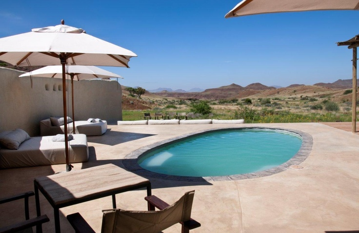A welcome oasis at Damaraland Camp, Namibia