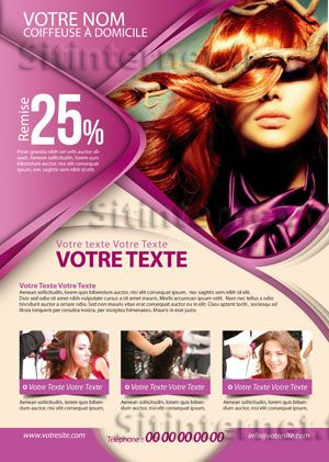 9 best Flyers images on Pinterest Hair salons, Flyer design and - hair salon flyer template
