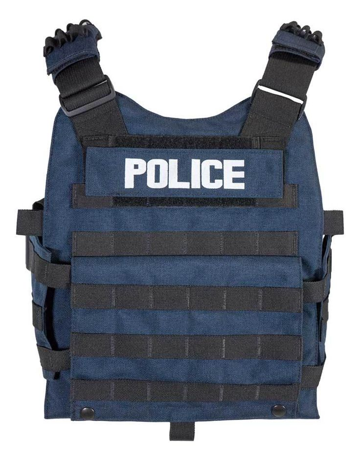 Blue Police Tactical Vest - American Blast Systems