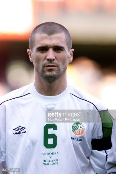 Republic of Ireland's Roy Keane prior to the World Cup Qualifier against Andorra THIS PICTURE CAN ONLY BE USED WITHIN THE CONTEXT OF AN EDITORIAL...