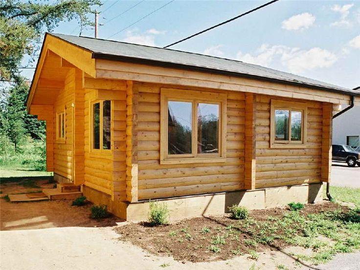 Easiest Cabin Build