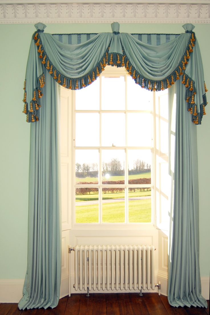 Best 25 swag curtains ideas on pinterest curtains with - Curtain designs for kitchen windows ...