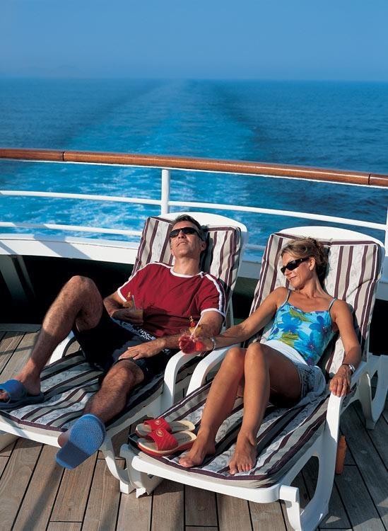 Oriana - Sunloungers #Cruise