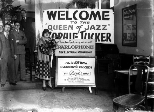 Sophie Tucker, ca. 1920