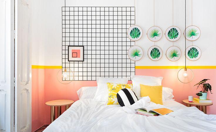 Casinha colorida: Viagens e design: Valencia Lounge Hostel