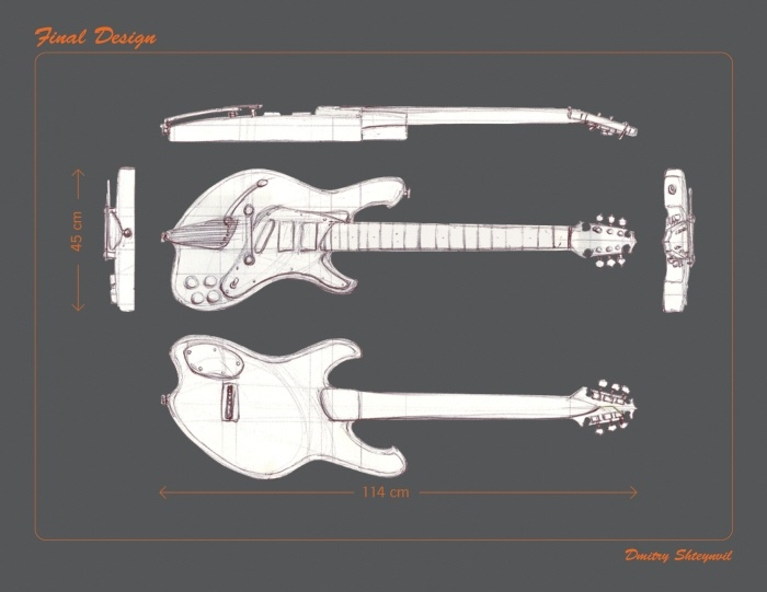 electro-guitar