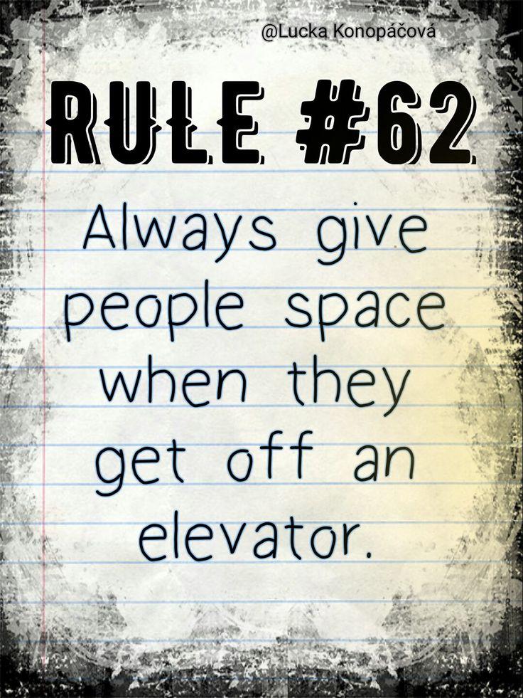 NCIS Gibbs rule #62