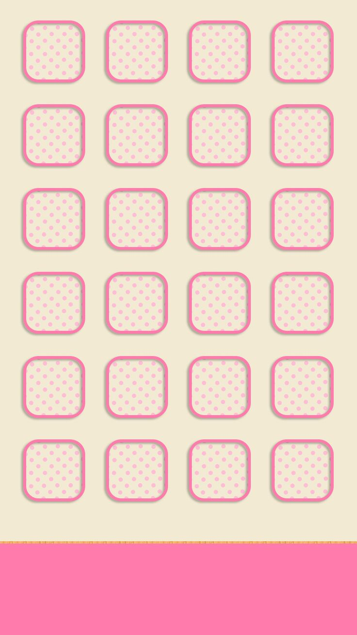 Wallpaper iphone cute pink - Shelves Icons Cute Simple Girly Pink Light Iphone 6 Wallpaperpink