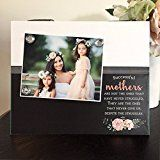 Successful Mothers Mommy and Me Endless Love Daughter Mothers Day gift handmade magnetic picture frame holds 5 x 7 photo 9 x 11 size