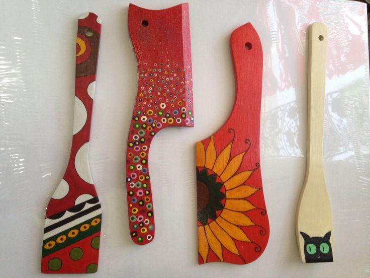 handmade kitchen utensils