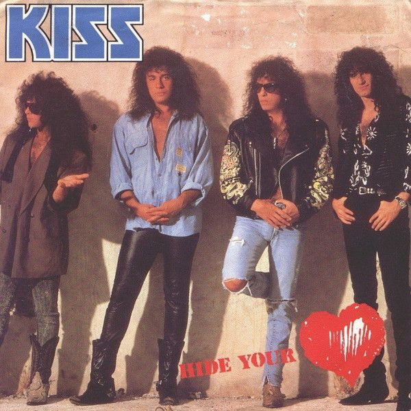 Kiss - Hide your heart (Vinyl) at Discogs