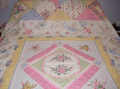 crazy quilts with vintage linens | Welcome | Rose Cottage Quilts