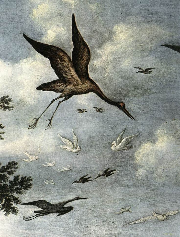 The Paradise (detail) by Roelandt Savery, 1618