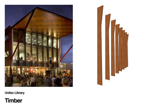Timber Fins make an appearance on the Unitec Library
