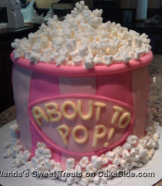 Baby Shower About To Pop (popcorn) theme                                                                                                                                                                                 Mais