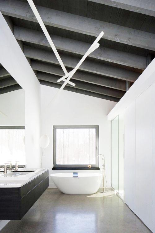 Your Daily Dose Of Inspiration   Bromont House / Paul Bernier Architecte