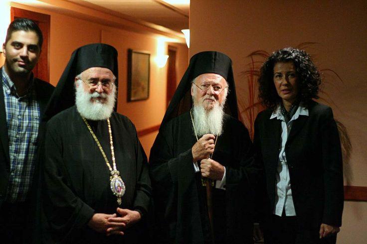 Ο Οικουμενικός Πατριάρχης κ.κ Βαρθολομαίος στο Hotel Z Palace. Patriarch Bartholomew in Hotel Z Palace