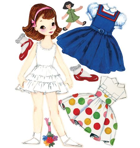 430 Best Paper Doll Betsy Mccall Images On Pinterest