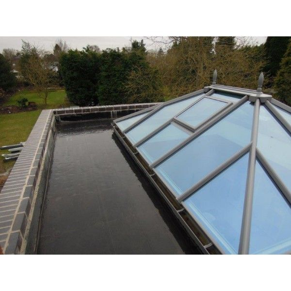 Orangery Roof Kits In 2020 Roof Lantern Rubber Flat Roof Roof Installation