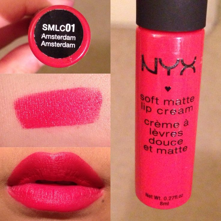 Target's selling this - NYX Matte Lip Cream in Amsterdam