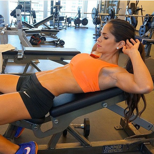 If you're looking to add some fit inspiration to your Instagram feed, look no further than Venezuela-born and Miami-Beach-based Michelle Lewin. This strong and sexy fitness star is constantly adding her workout recommendations that will inspire you to try something new in the gym.