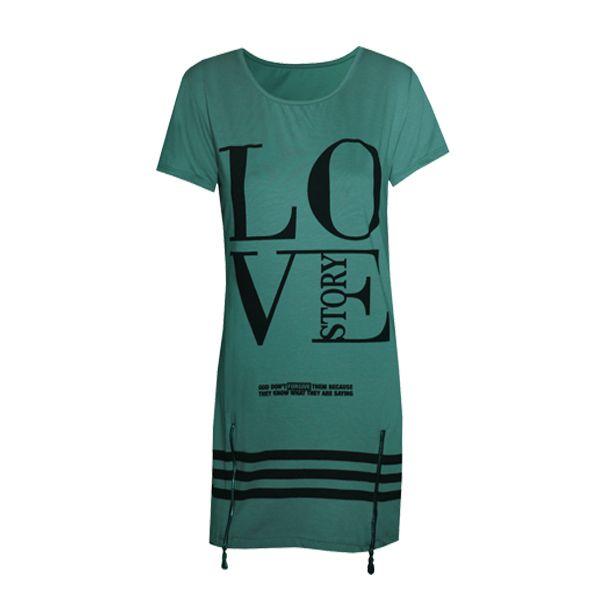 Μοντέρνο γυναικείο μπλουζοφόρεμα ''Love Story'' κοντομάνικο ελαστικό με διακοσμητικά φερμουάρ.Δες το εδώ--> http://be-casual.gr/gynaika/foremata/forema-love-story.html