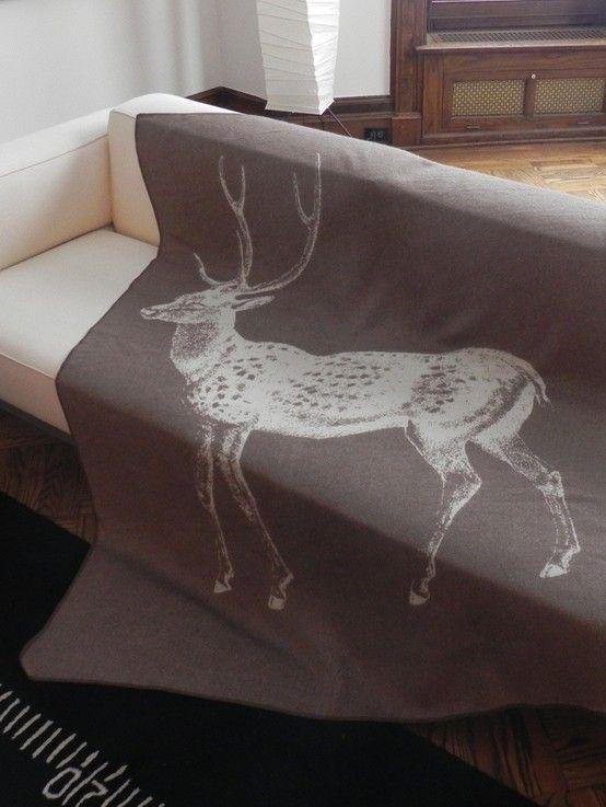 Deer throw
