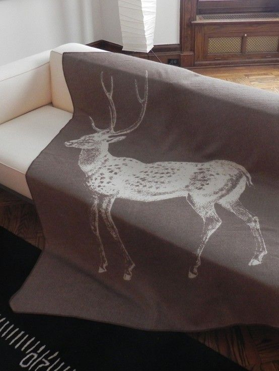 Deer throw
