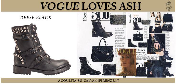 Segui il consiglio di #Vogue e indossa gli #anfibi #borchiati #Reese Black per sentirti una vera #biker!