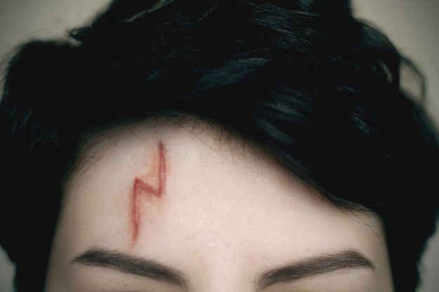And lastly, this *EPIC* prosthetic Harry scar for when you're feeling super legit. | 15 Gifts Every Harry Potter Beauty Fanatic Secretly Wants