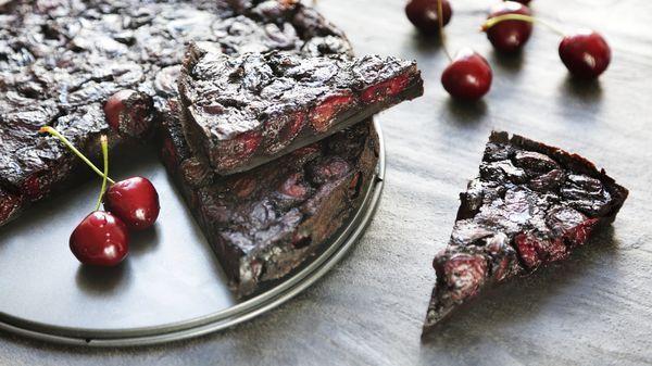 Clafoutis - třešně a kakao