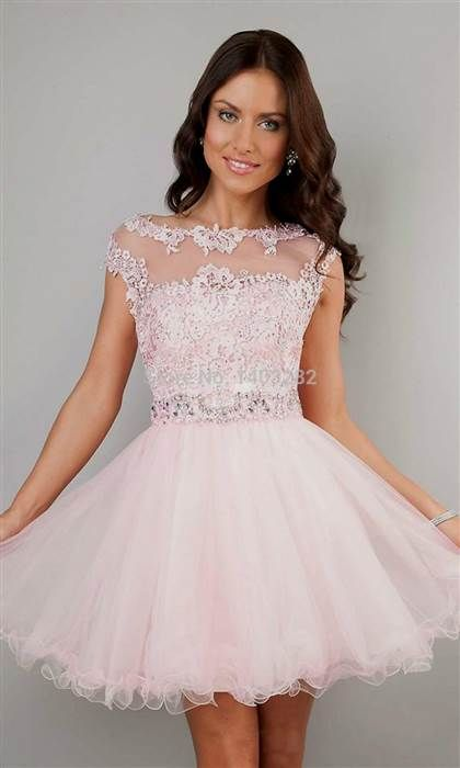 Awesome semi formal dresses with cap sleeves 2018