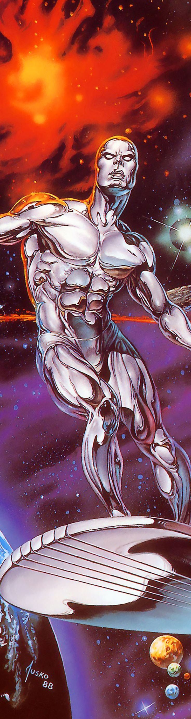 Silver Surfer - Joe Jusko                                                                                                                                                     More