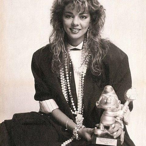 Sandra. #pop #germany #sandra #sandralauer #sandracretu #сандра #ретрофм #popqueen #80sgirl #80smakeup #80shair #80s