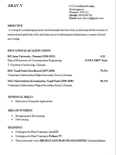 Best 25+ Latest resume format ideas on Pinterest Job resume - mechanical engineering resume template